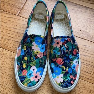 Keds Rifle Paper Co. Double Decker Slip On